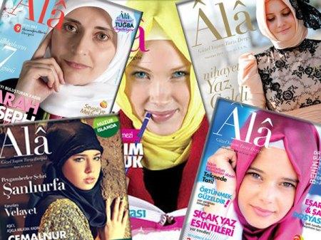 Hace furor una revista para mujeres con velo