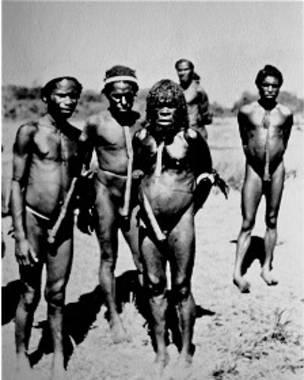 Los residentes de la llamada Shangri-La no eran conocidos ni habían conocido hombres blancos.