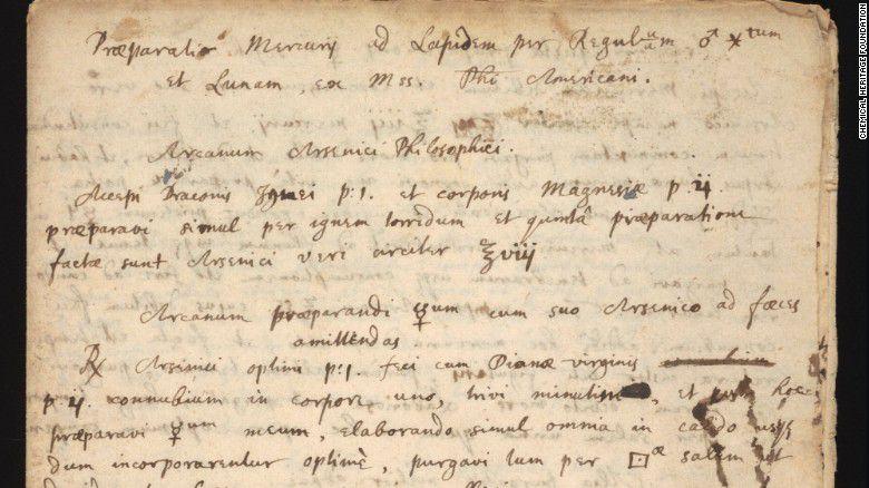 manuscrito-isaac-newton