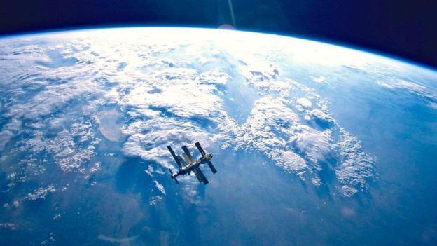 La estación espacial Mir terminó en el Punto Nemo.