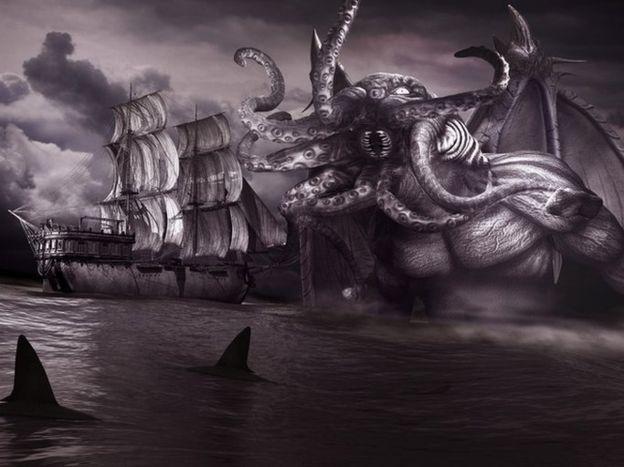 ¿Vive monstruo Cthulhu en el punto de inaccesibilidad oceánica?