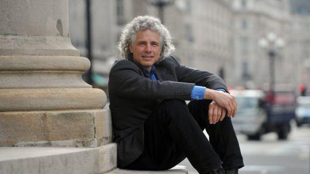 """El canadiense Steven Pinker, autor, entre otros, de """"El instinto del lenguaje: cómo crea el lenguaje la mente"""" y """"La tabla rasa. La negación moderna de la naturaleza humana""""."""