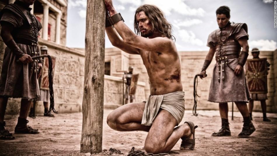 Graded_TB_Day06B_040212_CC_D3S4296 - Jesus (Diogo Morgado) undergoes a brutal trial.