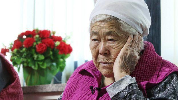 """Lee Ok-seon fue raptada a los 15 y esclavizada sexualmente por tres años en una de las así llamadas """"estaciones de confort""""."""
