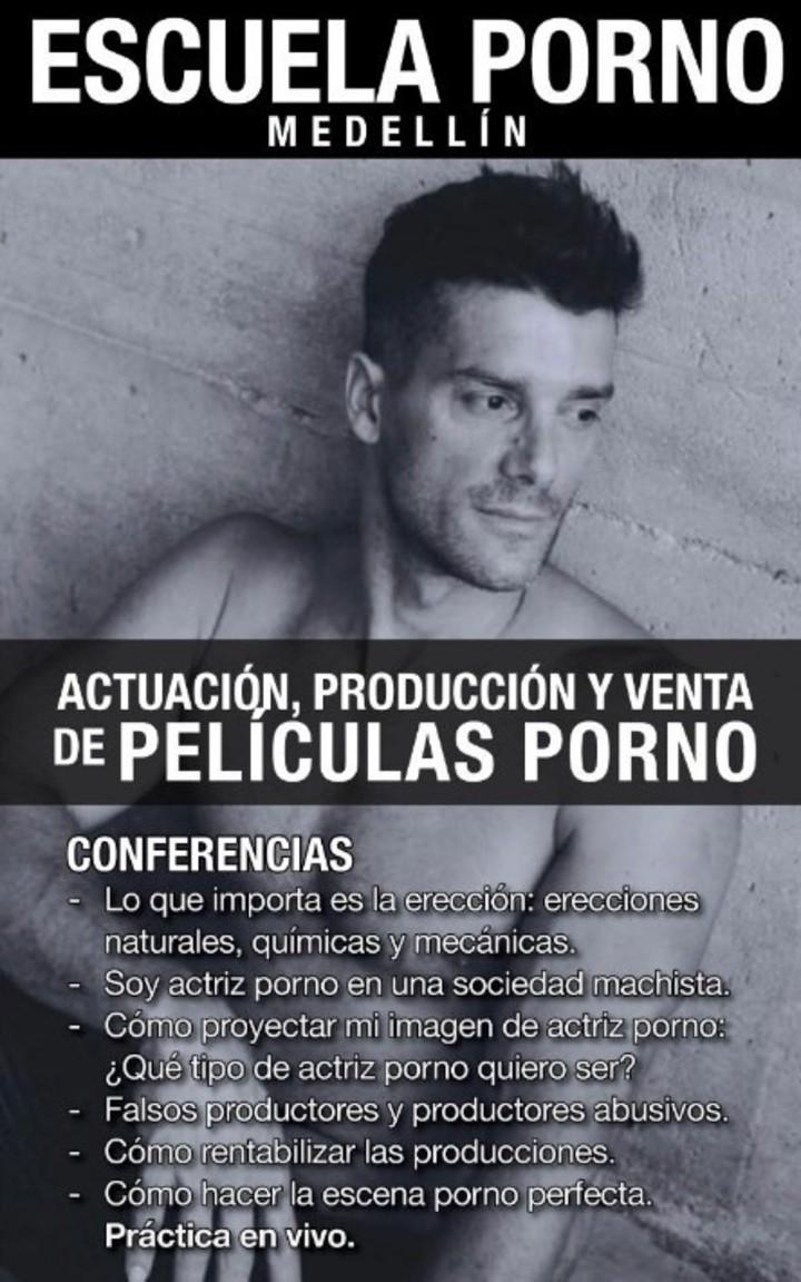Amaranta Ruiz Xxx abrió en colombia la primera universidad del porno en el